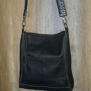 The Sak Black Leather Lucia Crossbody